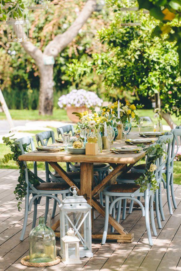 שולחן חג אביבי